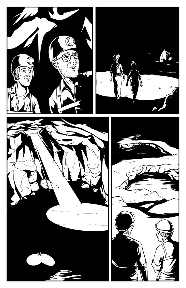 OFFERING, Issue 1: page 5 art by Kevin Warren