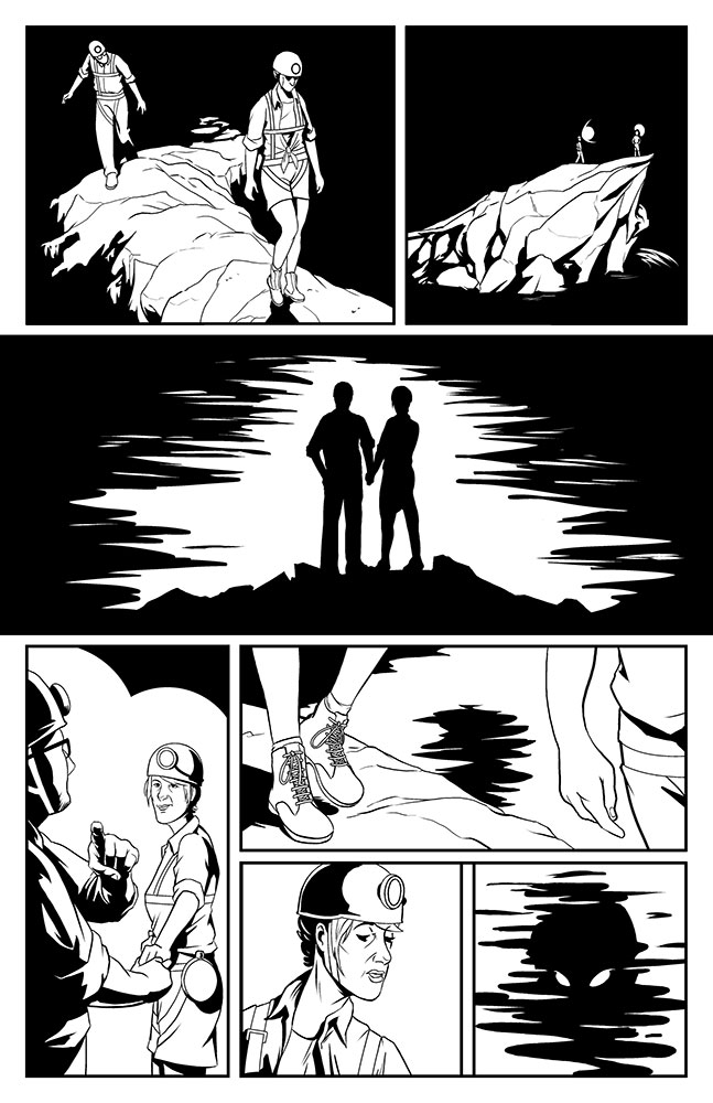 OFFERING, Issue 1: page 6 art by Kevin Warren